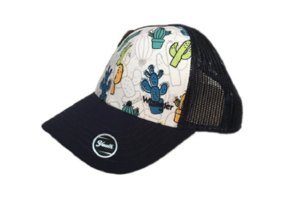 Farm Girl Youth Wrangler Cactus Print Cap