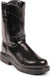 Justin Men's Black Melo Veal Work Boot