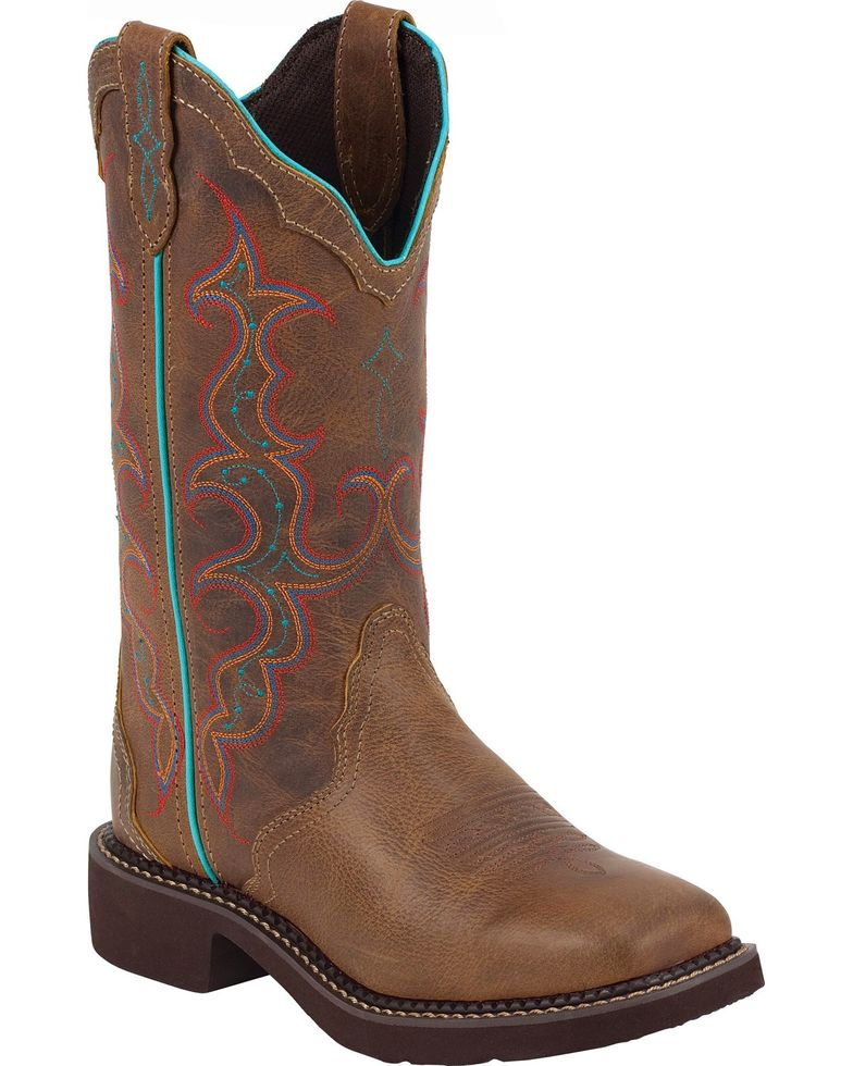 Justin Women's Gypsy Square Toe Western Boot