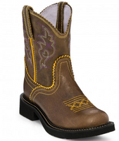 Justin Women's Gypsy Gemma Buffalo Brown Western Boot