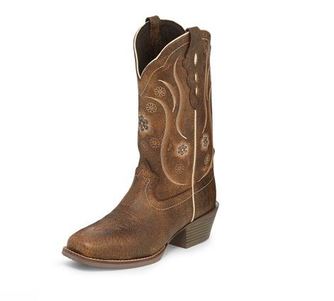 Justin Women's Jessa Brown Cowboy Boot