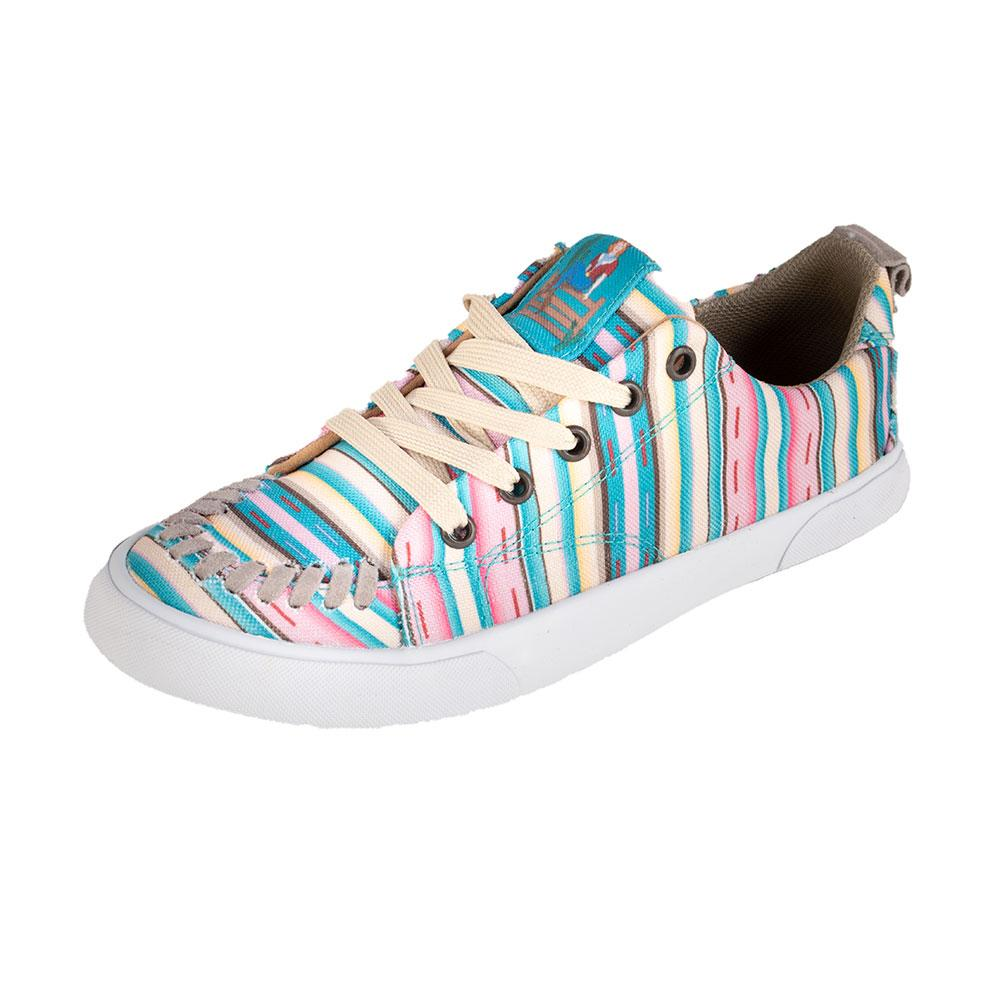Reba by Justin Women's Arreba Pink Stripe Casual Shoe