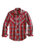 Tin Haul Men's Long Sleeve Plaid Western Shirt