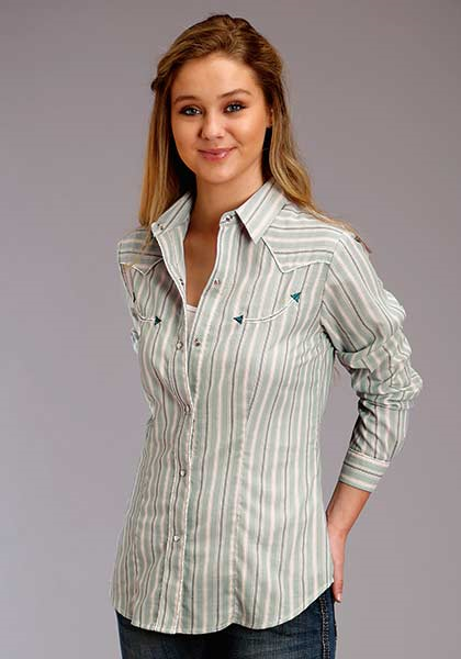 Roper Women's Long Sleeve Stripe Top
