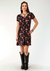 Roper Women's Floral Print Knit Jersey Dress