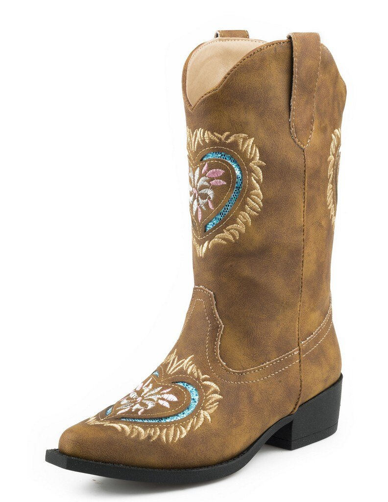 Roper Girls Daisy Heart Fashion Boot