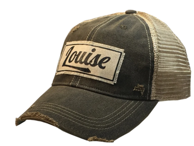 "Vintage Life ""Louise"" Distressed Trucker Cap"