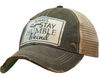 "Vintage Life ""Always Stay Humble & Kind"" Distressed Trucker Cap"