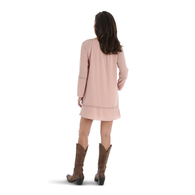 Wrangler Women's Long Sleeve Tunic Dress