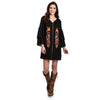 Wrangler Women's Long Sleeve Dress With Embroidery