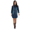Wrangler Women's Long Sleeve Denim Dress