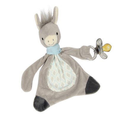 Maison Chic Dandy the Donkey Pacifier Blankie