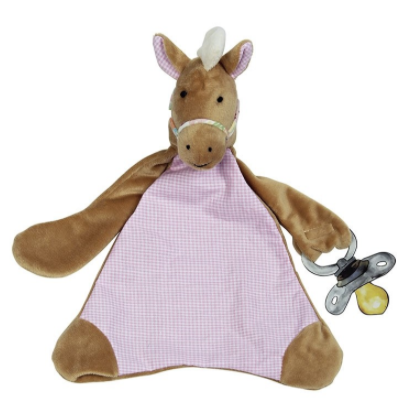 Nellie the Horse Pacifier Blankie
