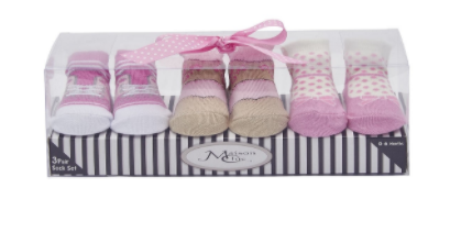 Cowgirl Boot Socks Gift Set