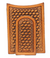 Nocona Tan Basket Weave Money Clip & Wallet