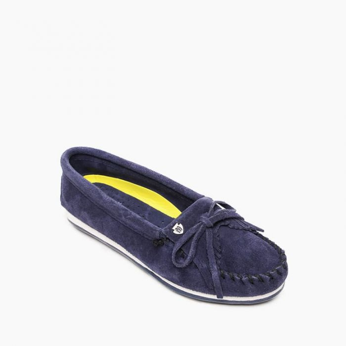 Minnetonka Moccasin Kilty Plus - Navy