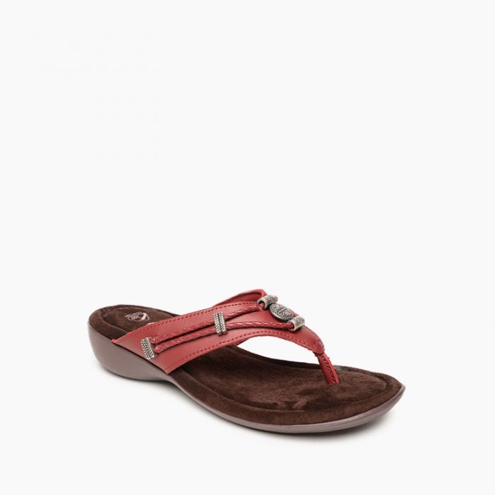 Minnetonka Moccasin Silverthorne 360 -RED