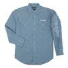Wrangler Men's Logo Long Sleeve Shirt
