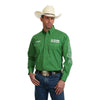 Wrangler Men's Ram Rodeo Logo Print Long Sleeve