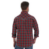 Wrangler Men's Plaid Rock 47 Long Sleeve Shirt