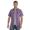 Wrangler Men's Retro Plaid Short Sleeve Shirt