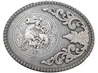 Nocona Men's Bronc Rider Belt Buckle