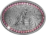 Blazin' Roxx Little Girl's Barrel Racers Buckle