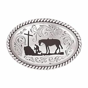 Nocona Boy's Cowboy Prayer Buckle