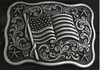 Nocona by M&F American Flag Belt Buckle