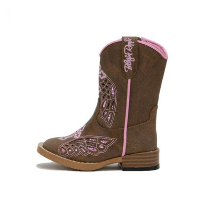 M & F Western Girls Blazin Roxx Gracie Toddler Boot