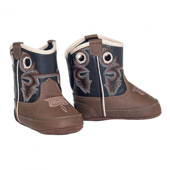 M&F Western Double Barrel Infants Trace Western Boots