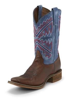 Nocona Women's Naida Blue Western Boot