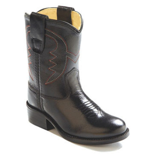 Old West Toddler Cowboy Boot - Black