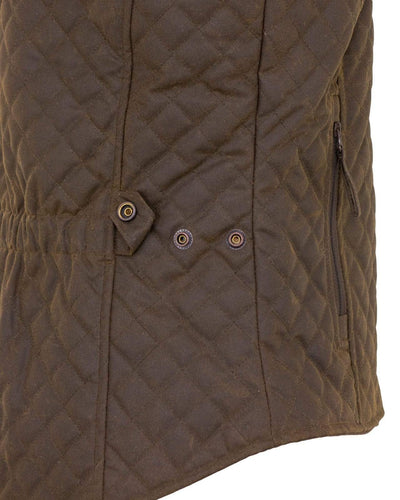 Outback Women Quilted Vest - Bronze