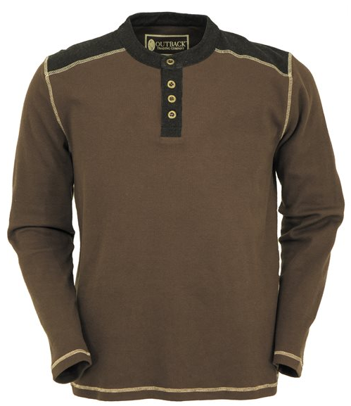 Outback Trading Men's Pike Thermal Henley
