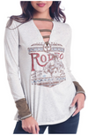 Panhandle Women's Rodeo Embroidered Graphic Tee