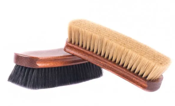 Rochester Shoe Tree Professional 100% Horsehair Brush