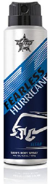 Tru Fragrance PBR Fearless Body Spray - Hurricane