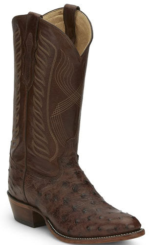 Tony Lama Men's McCandles Full Quill Ostrich Boot