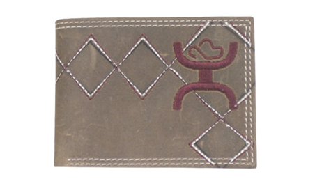 Trenditions Hooey Embroidered Bi-Fold Wallet