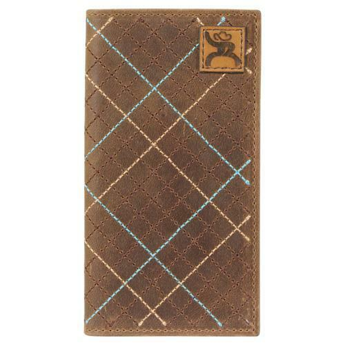 Trenditions Hooey Roughy Patch Brown Rodeo Wallet