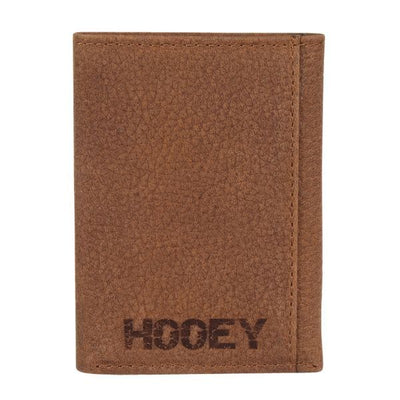 Hooey Men's Basketweave Tri-Fold Wallet