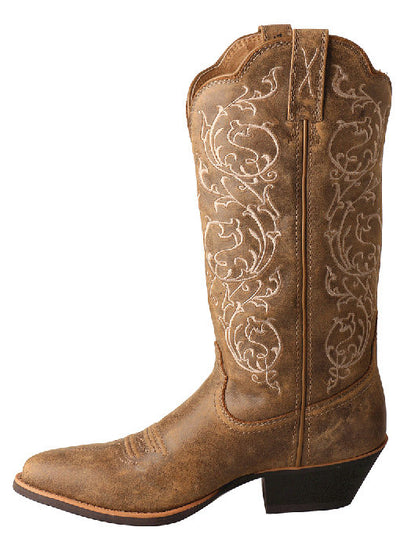 Twisted X Women's Fancy Stitched Western Boot