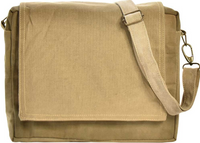 Vintage-Addiction Recycled Military Tent Crossbody