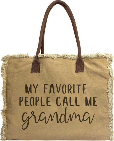 Vintage-Addiction Favorite People/Grandma Market Tote