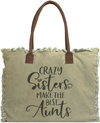 Vintage-Addiction Crazy Sister/Best Aunt Market Tote