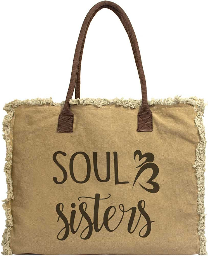 Vintage-Addiction Soul Sisters Market Tote