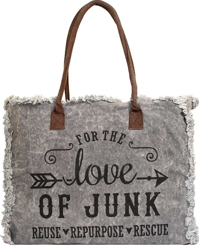 Vintage-Addiction Love of Junk Market Tote