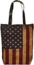 Vintage-Addiction US Flag Shoulder Tote