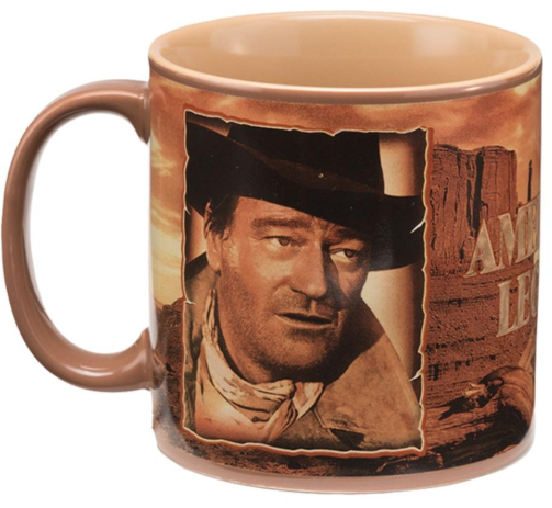 Vandor John Wayne Courage Ceramic Mug